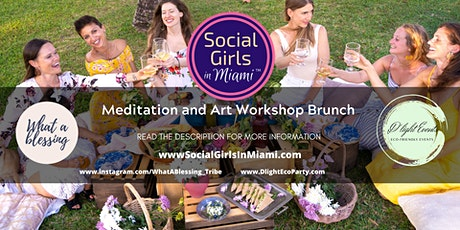 Meditation and Art Workshop with Brunch tickets