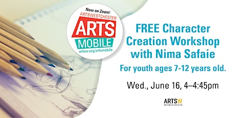 FREE | ArtsMobile | Character Creation Workshop with Nima Safaie tickets