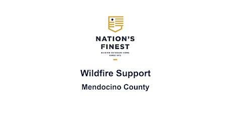 Wildfire Support for Mendocino County - Resources tickets