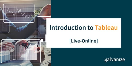 Introduction to Tableau [Live-Online] tickets