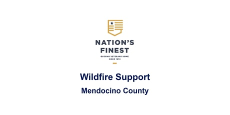 Wildfire Support for Mendocino County - Self Help tickets