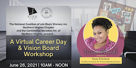 Virtual Career Day & Vision Board Workshop tickets