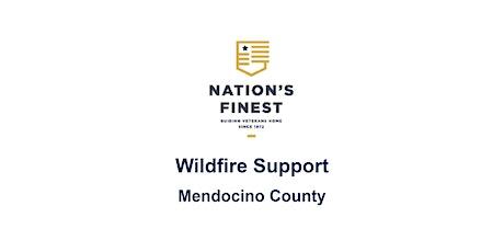 Wildfire Support for Mendocino County - Wildfire Preparedness tickets