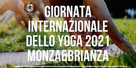 GIORNATA INTERNAZIONALE 2021 DELLO YOGA MONZA E BRIANZA biglietti