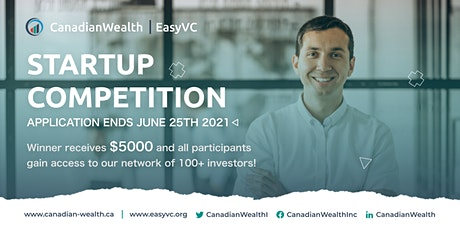 EasyVC Pitch competition tickets