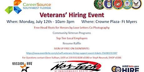 SWFL Veterans' Hiring & Support Event tickets