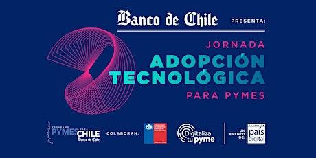 Jornadas Adopción Tecnológica para Pymes : Ciberseguridad para tu Negocio entradas