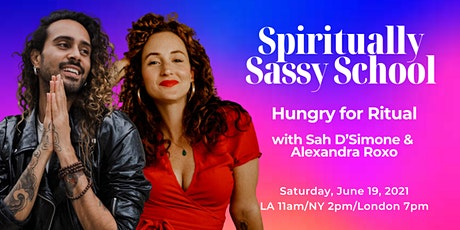 Masterclass - Hungry for Ritual with Sah and Alexandra tickets