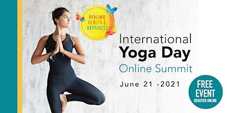 International Yoga Day Online Summit tickets