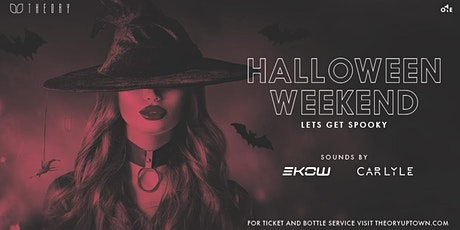 Halloween Weekend tickets