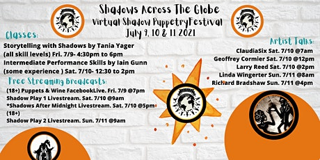 Shadows Across The Globe Shadow Puppetry Festival! tickets