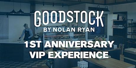 Goodstock 1st Year Anniversary VIP Experience tickets