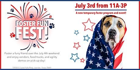 Foster Fun Fest tickets