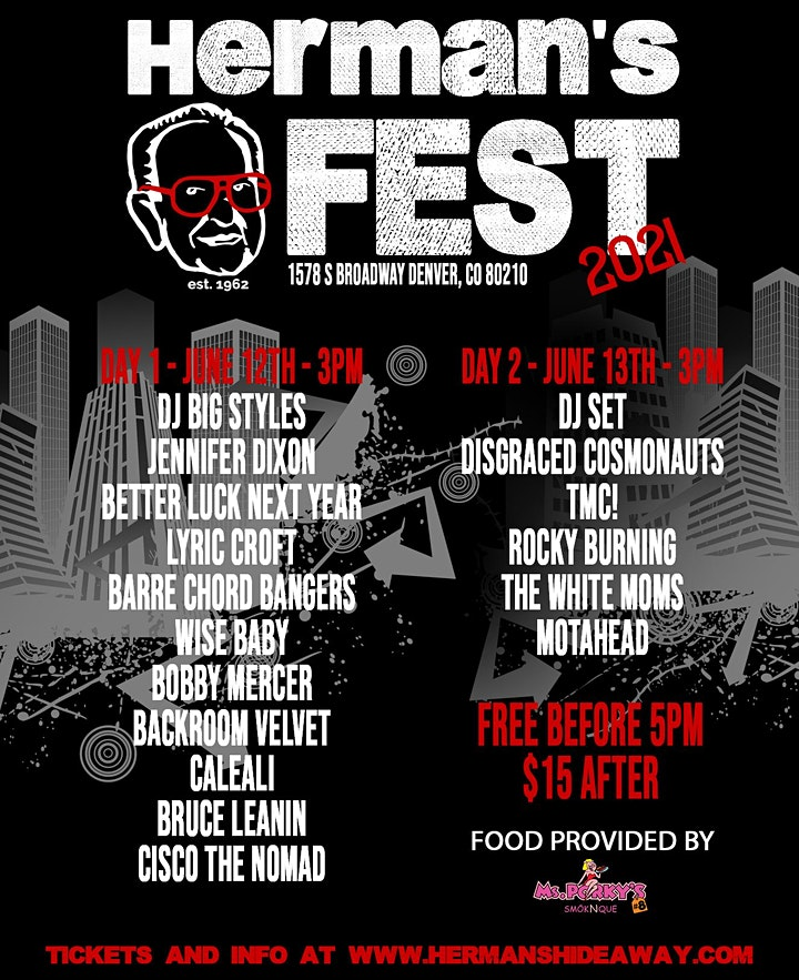 THE HERMAN FEST more TBA image