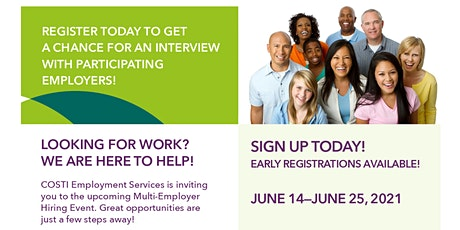 Two-Week Multi-Employer Hiring Event tickets