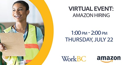 Amazon Virtual Hiring Event tickets