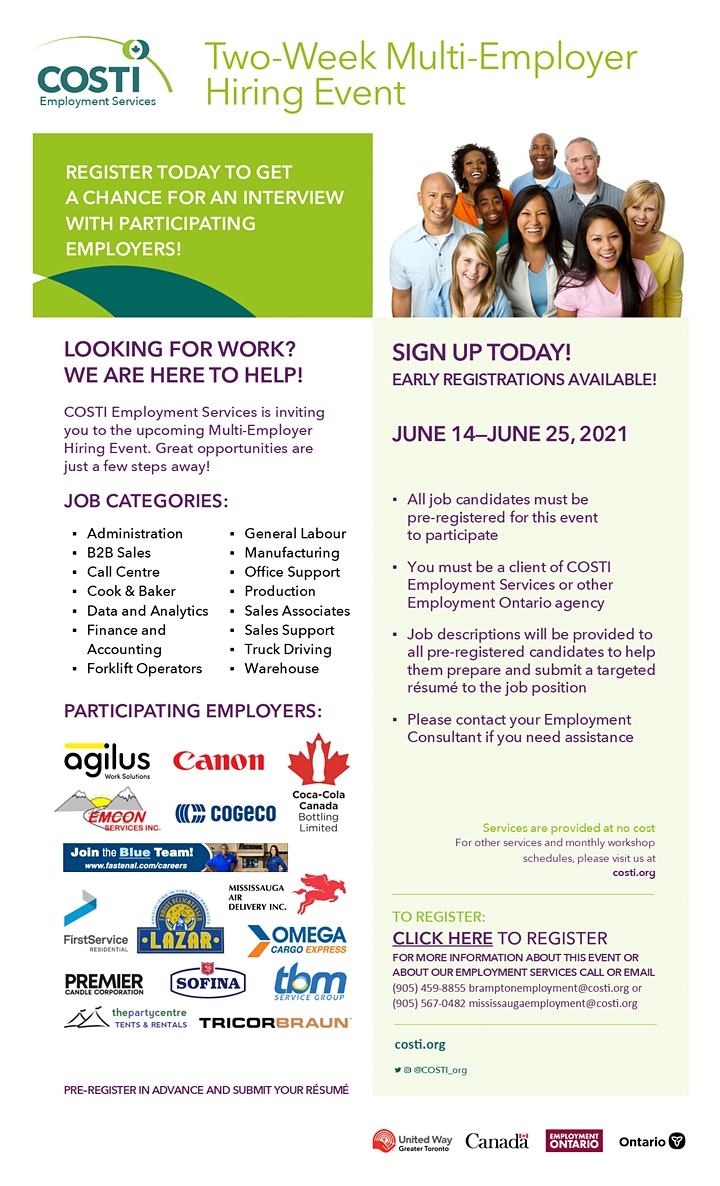 Two-Week Multi-Employer Hiring Event image