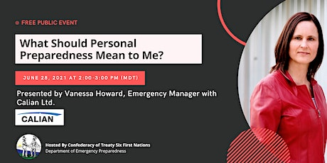 What should personal preparedness mean to me? tickets