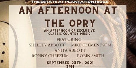Afternoon at The Opry- Classic Country Music & Dinner tickets