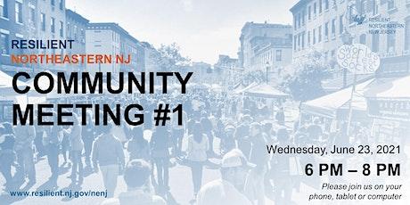 Resilient Northeastern NJ - Virtual Community Meeting #1 tickets