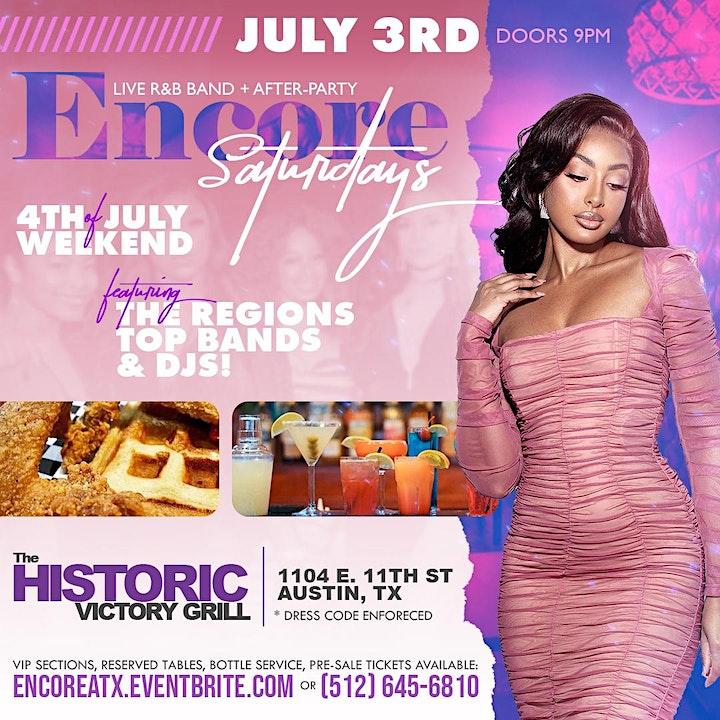 Encore Saturdays    R&B, Hip-Hop, Reggae  7.3 image