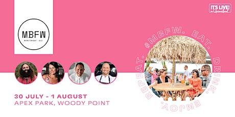 Moreton Bay Food + Wine Festival - VIP Oasis Lounge Tickets tickets