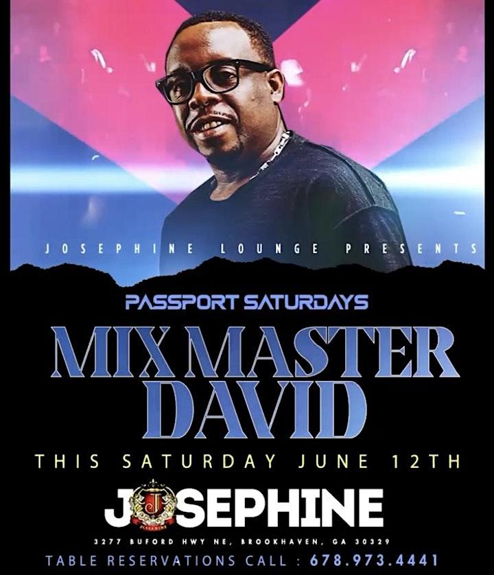 Live!! INTERNATIONAL VIBES Passport Saturday @ Josephine Lounge - Atlanta image