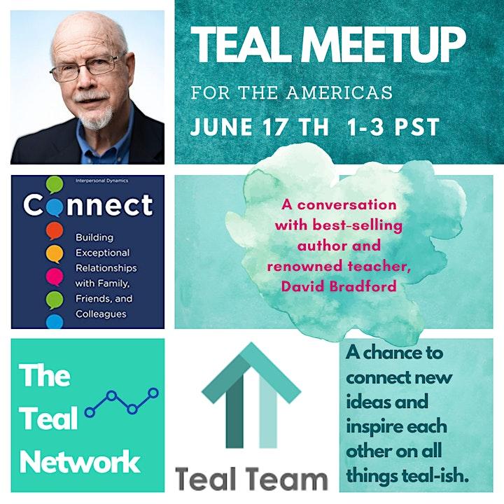 Global Teal Meetup Americas - June - Featuring David Bradford image
