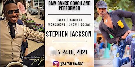 Salsa & Bachata Workshops with DMV Coach & Performer Stephen Jackson tickets