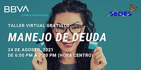 Manejo De Deuda - Taller Virtual - Taller Virtual GRATIS boletos