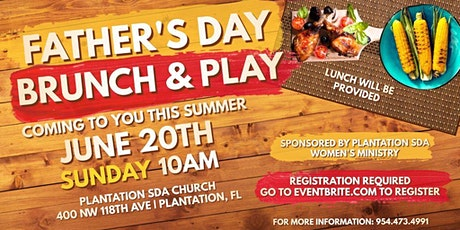 Father's Day  Brunch & Play tickets