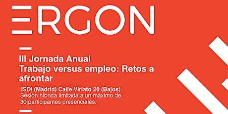 Jornada Anual Fundación Ergon entradas