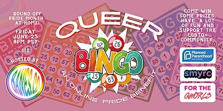Queer Bingo: An Online Pride Benefit tickets