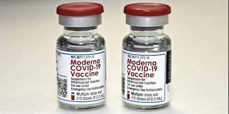 Vaccination covid Moderna billets