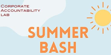 Summer Bash tickets