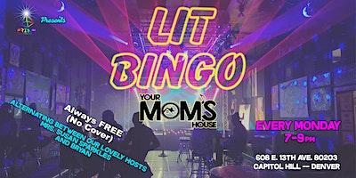 Lit Bingo 7/26