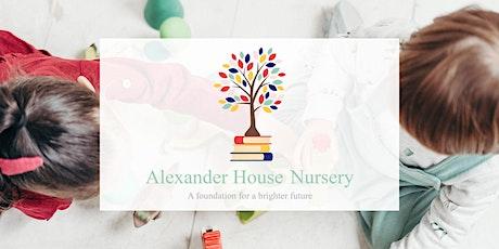 Open Day - Alexander House Nursery Wandsworth tickets