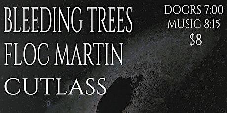 Bleeding Trees w/ Floc Martin, Cutlass at New Brookland Tavern tickets