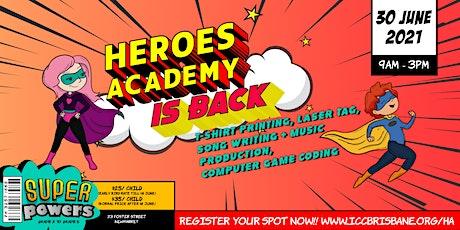 Heroes Academy 2021 tickets