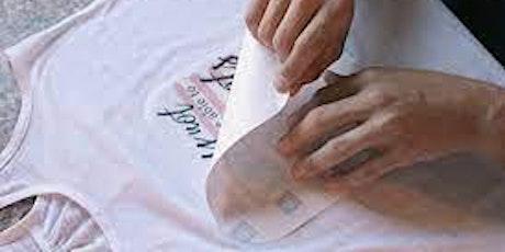Cricut Heat Press Shirt Workshop tickets
