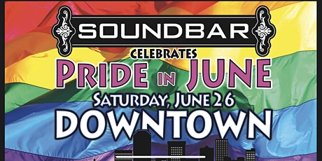 Soundbar celebrates Pride 2021. In June. tickets
