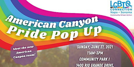 American Canyon Pride Pop Up tickets