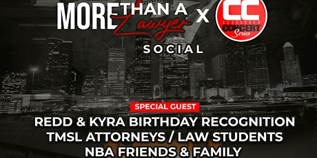 More Than A Lawyer Social tickets