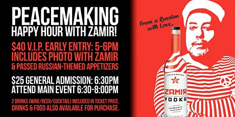 Peacemaking Happy Hour with Zamir Gotta tickets