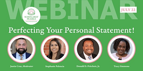 Perfecting Your Personal Statement! tickets