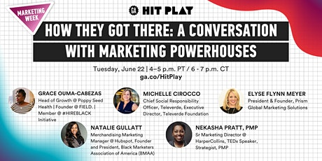 How They Got There: A Conversation With Marketing Powerhouses tickets