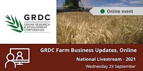GRDC  National Livestream - September 2021 tickets