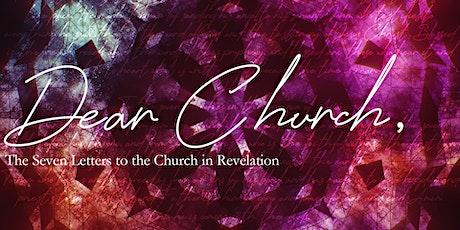 Dear Church: In Person Church tickets