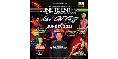 Juneteenth Unity Weekend   Rooftop Kick-off Party tickets