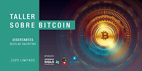 Taller de Bitcoin: burbuja o cambio de paradigma? tickets
